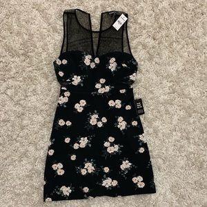 Floral cocktail/party dress
